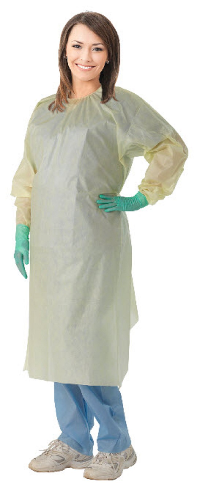 AAMI Level 2 Isolation Gowns - FREE Shipping