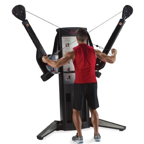 dual cable cross machine