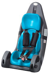 Churchill Pediatric Positioning Car Booster Seat With Vehicle Restraint