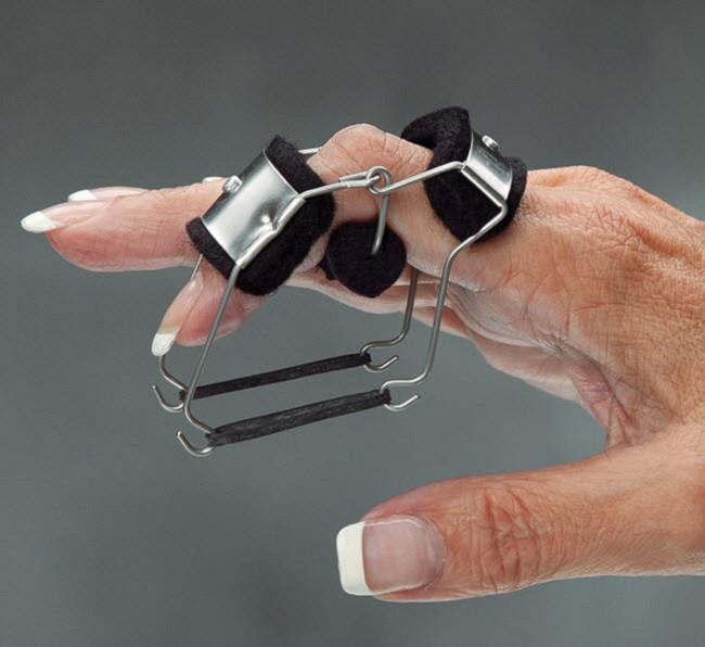 Bunnell Finger Knuckle Bender Splint