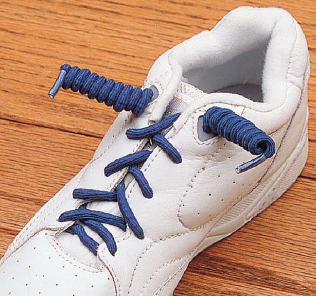 7a28ce8a5107ce Coiled No Tie Shoe Laces. Sold in quantity of 2 pairs
