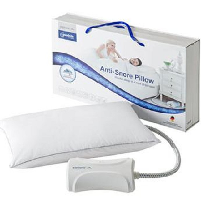 anti system positioning prod body snorebegone pillow snore