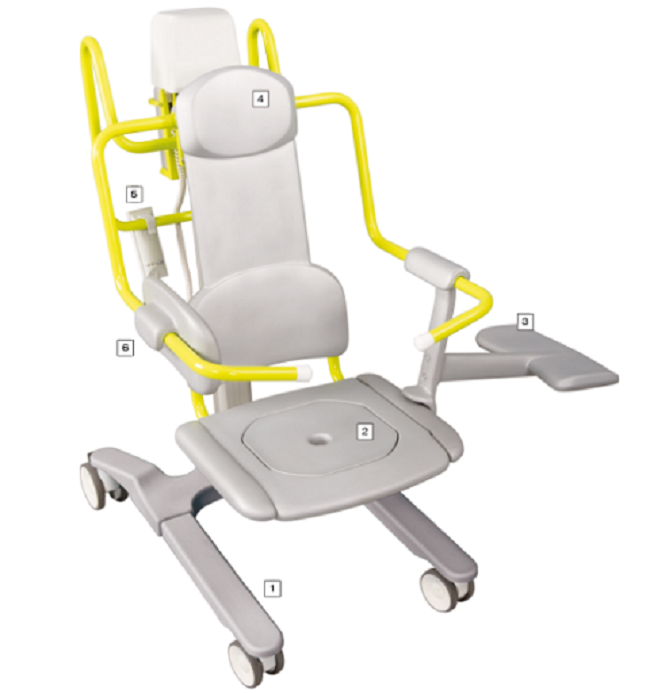 1000 Seat Lift Reclining Transfer Chair Lift