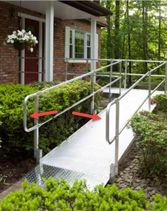 wheelchair ramps: 38 amazing portable, handicap & aluminum ramps