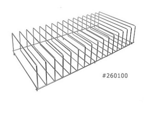 Wire File Organizer Rack For Binder Carts