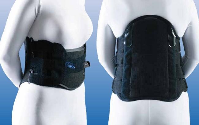 Oasis Pro Lumbo-Sacral Orthosis LSO Back Support Brace