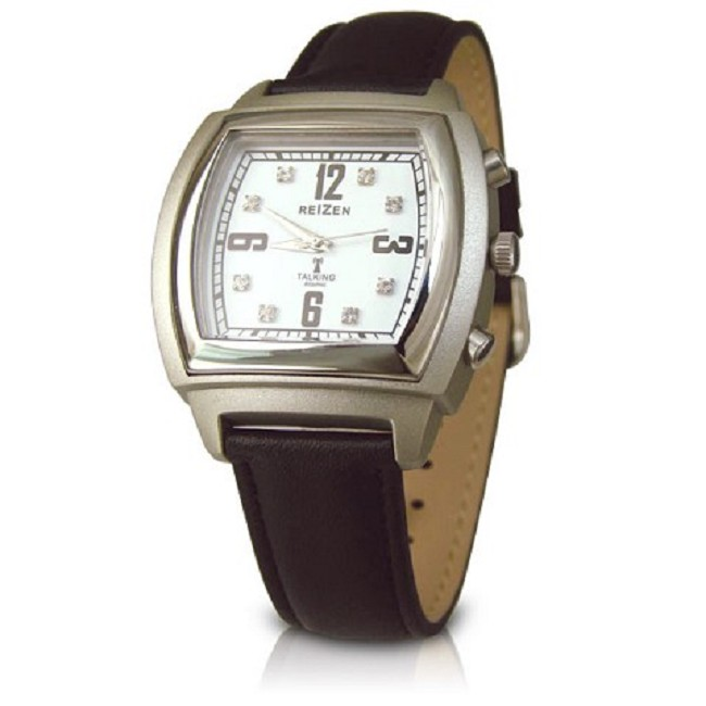 Talking Atomic Watch With Square Face