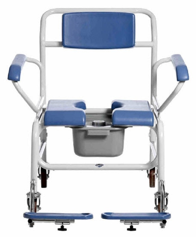 Mobile Bariatric Shower Chair - FREE Shipping