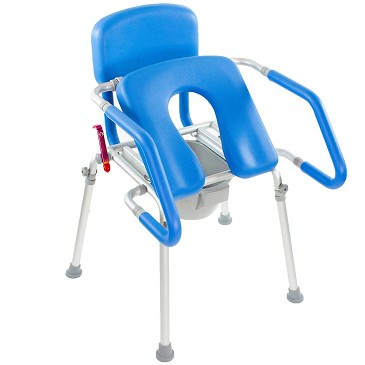 GentleBoost Uplift 3-in-1 Commode Shower Chair by Platinum Health