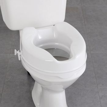 Raised Toilet Seat Handicap Toilet Seat Elevated Toilet Seat