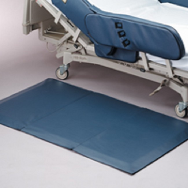 Secure Beveled Edge Cushioned Bedside Floor Safety Fall Mat
