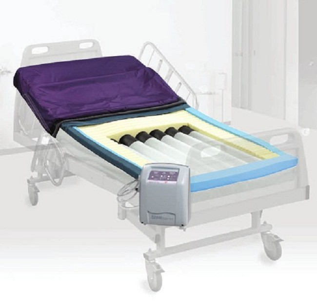 Bariatric Pressureguard Easy Air Xl Hospital Bed Mattress And For Long Term Care