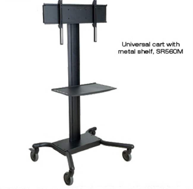 Peerless Flat Panel TV Cart for 32in  to 60in  LCD and Plasma Screens