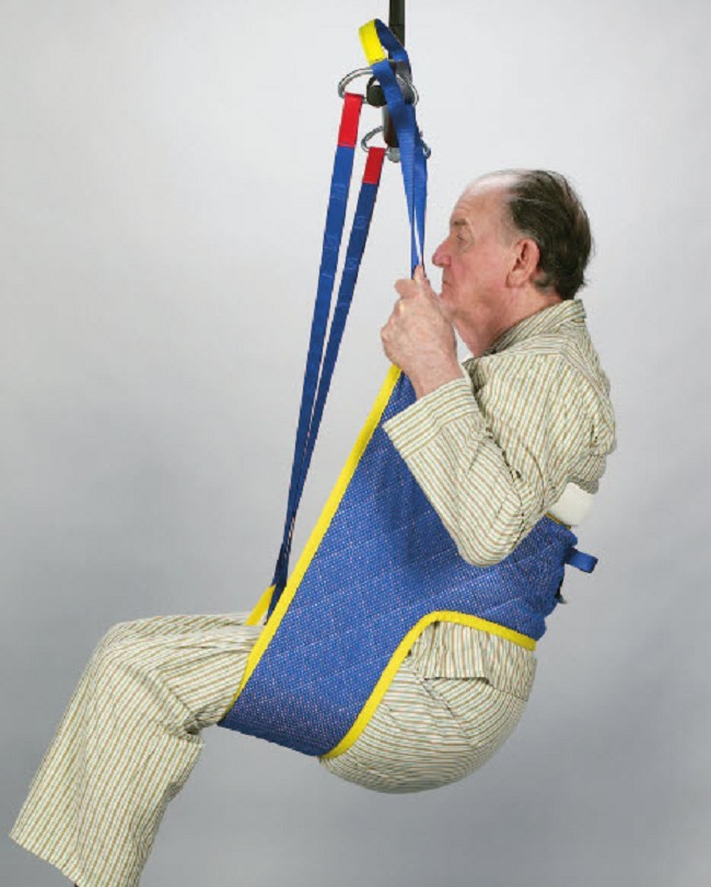 Hygiene Patient Lift Slings With Commode Opening