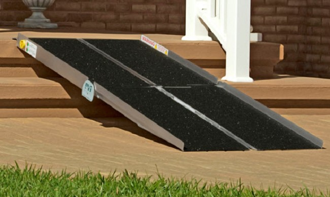 Portable Wheelchair Ramp Multifold Free Shipping