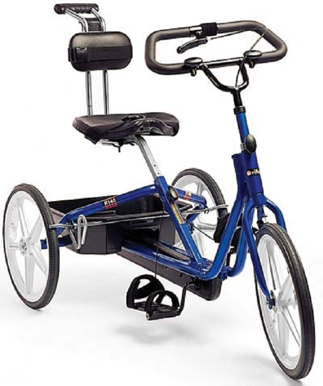Exercise Bike For Disabled: Rifton R140 Large Adaptive Tricycle