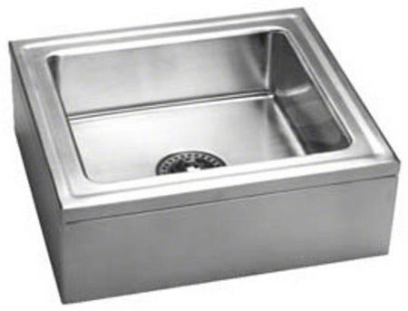 Wall Hung Mop Sink : Cuverro Antimicrobial Copper-Nickel Wall Hung Sink