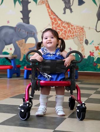 Gait Trainer Pediatric Walkers Stander Walker On