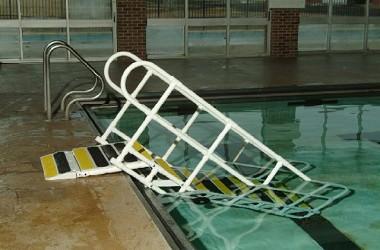 Aquatrek Non Corrosive Metal Pool Ramps Free Shipping