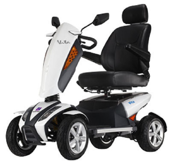 Vita power scooters for senior mobility free shipping for Motorized scooters for elderly