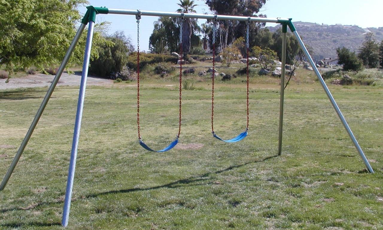 Jensen Swing Standard 10 Ft High Residential Swing Set
