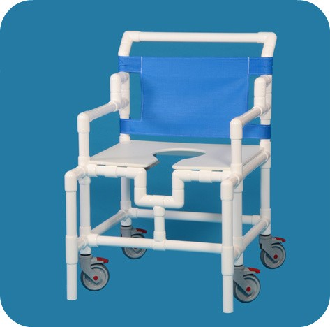 Shower chairs commode chair shower seat discount for Bariatric bathroom design