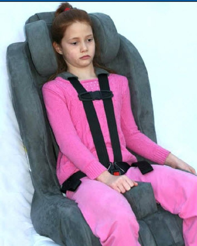 Childrens Scoliosis Kit For Roosevelt Child Safety Seat