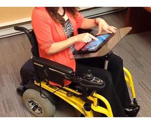 Comfort Company Flip Up Half Wheelchair Lap Tray