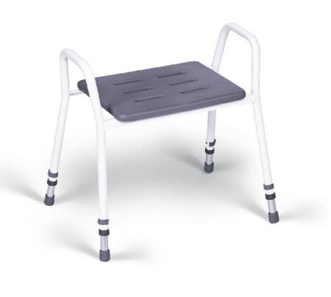 Mesh shower chairs - Handicare Shower Stool With Armrests