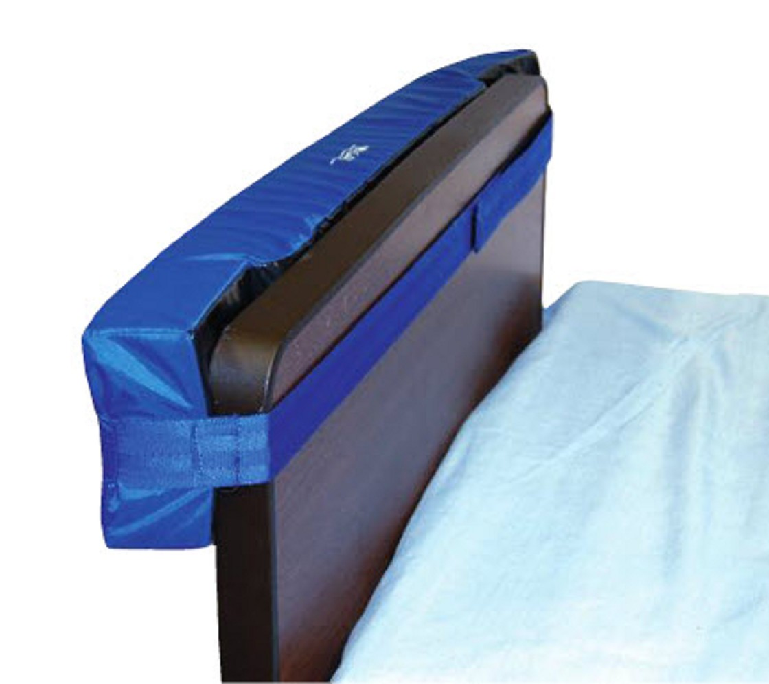 Water bed for patients - Skil Care Cushioned Bed Wall Protector Headboard And Footboard