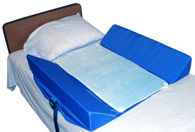 care 30 degree bed support bolster systems