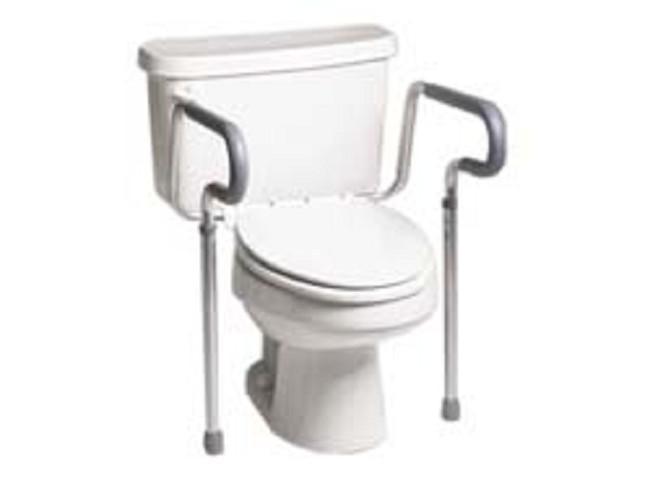 Folding Toilet Safety Rails