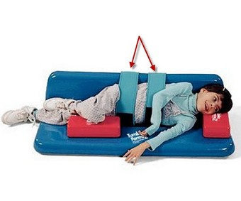 Pediatric Rolls And Wedges Foam Roll Wedge Pillow