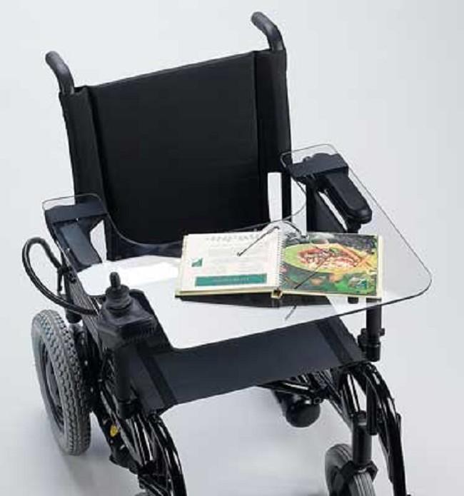 Lap Tray For Electric Wheelchair With Cutout Joystick Controller