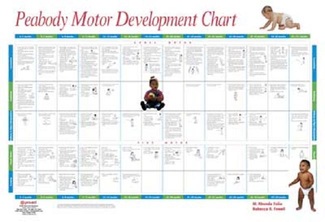 Peabody motor development chart for What is motor development