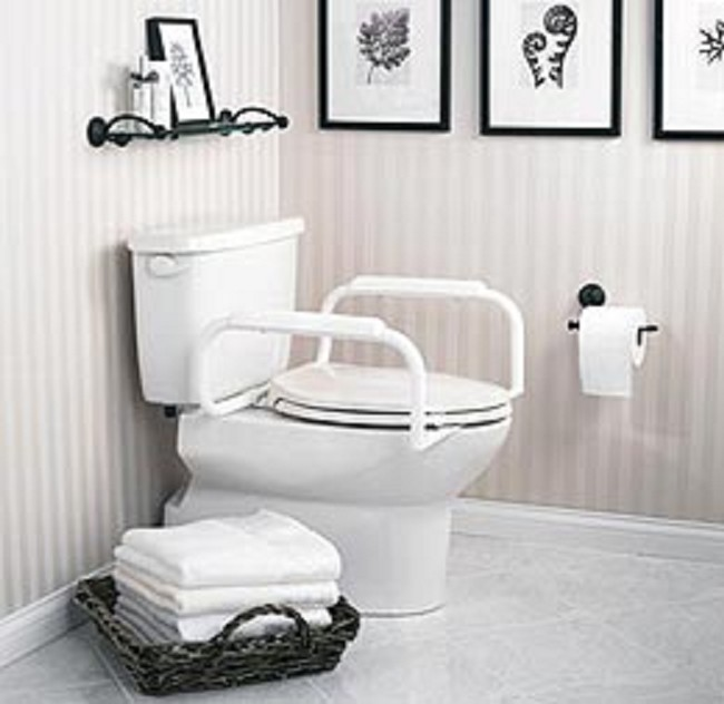 Toilet Seat Safety Rail Support Bars Free Shipping
