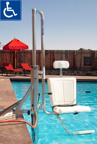 Best Pool Lifts Ada Compliant For Handicap Swimming Amp Spas