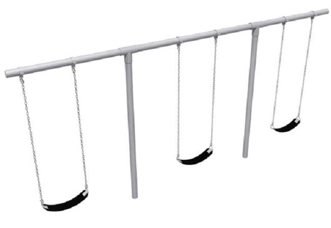 heavy duty t shaped swing sets free shipping
