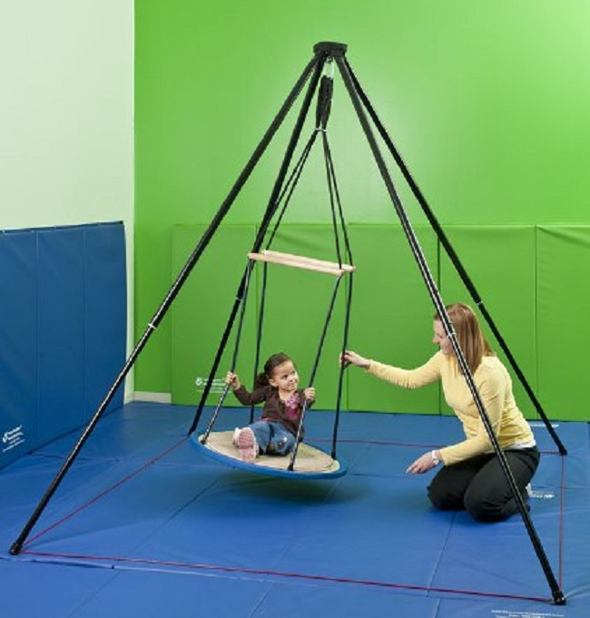 Itinerant Indoor Therapy Swing And Frame