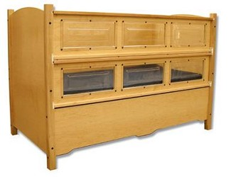 Kayserbetten Hannah Safety Bed With Extra Tall Railing