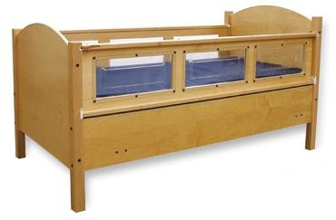SleepSafe Fixed Low Safety Bed