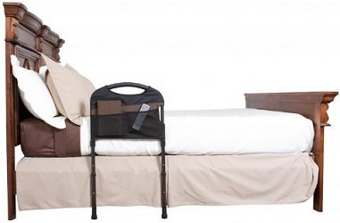 Stable Safety Bed Rail With Organizer