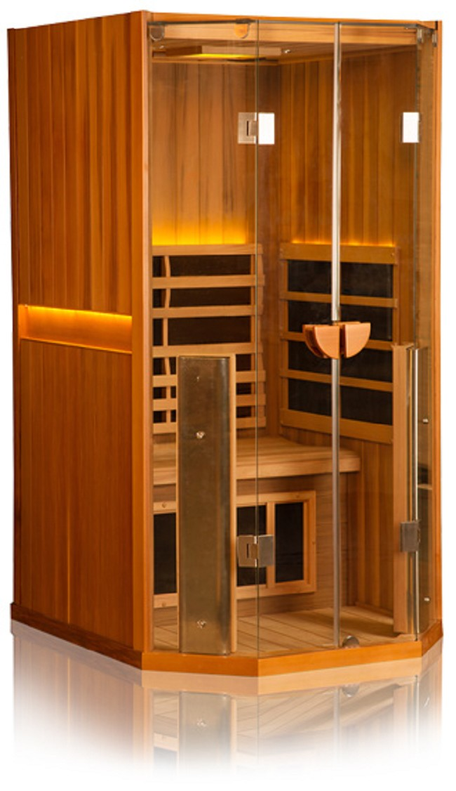 clearlight sanctuary 1 person infrared sauna. Black Bedroom Furniture Sets. Home Design Ideas