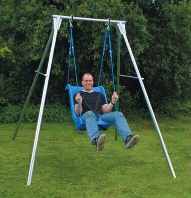 pediatric swings swing frames special needs swing on. Black Bedroom Furniture Sets. Home Design Ideas
