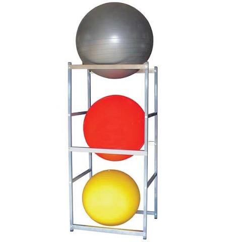 vertical basketball storage rack