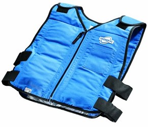 Phase Change Cooling Vest with Front Zipper