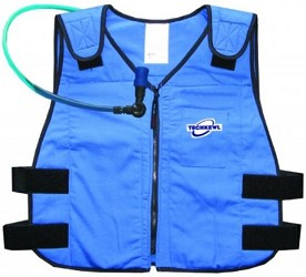 Phase Change Cooling Vest with Hydration System