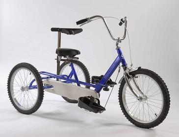 Triad Tracker Tricycle