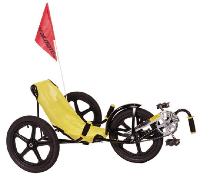 Adult Banana Peel Recumbent Tricycle