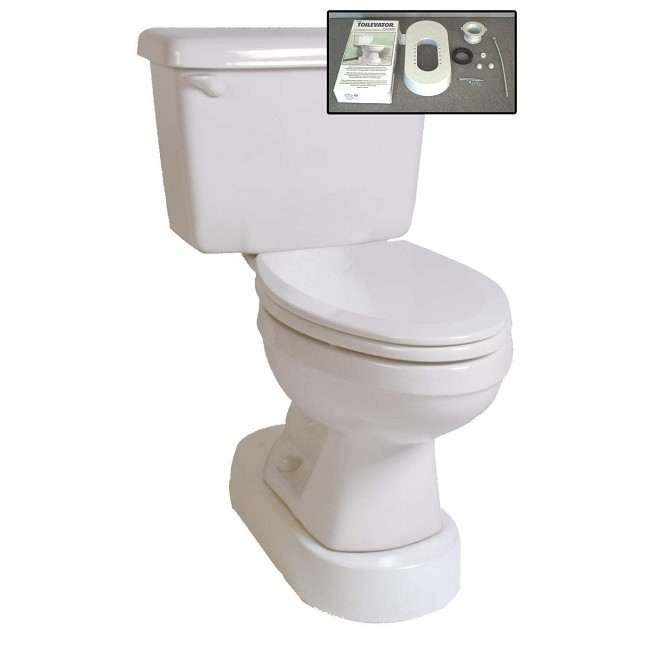 Fine Toilevator Toilet Base Riser Caraccident5 Cool Chair Designs And Ideas Caraccident5Info